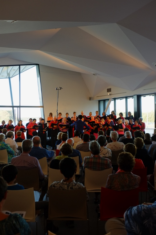 CCS Canberra Voices concert at Belconnen Arts Centre, 2014