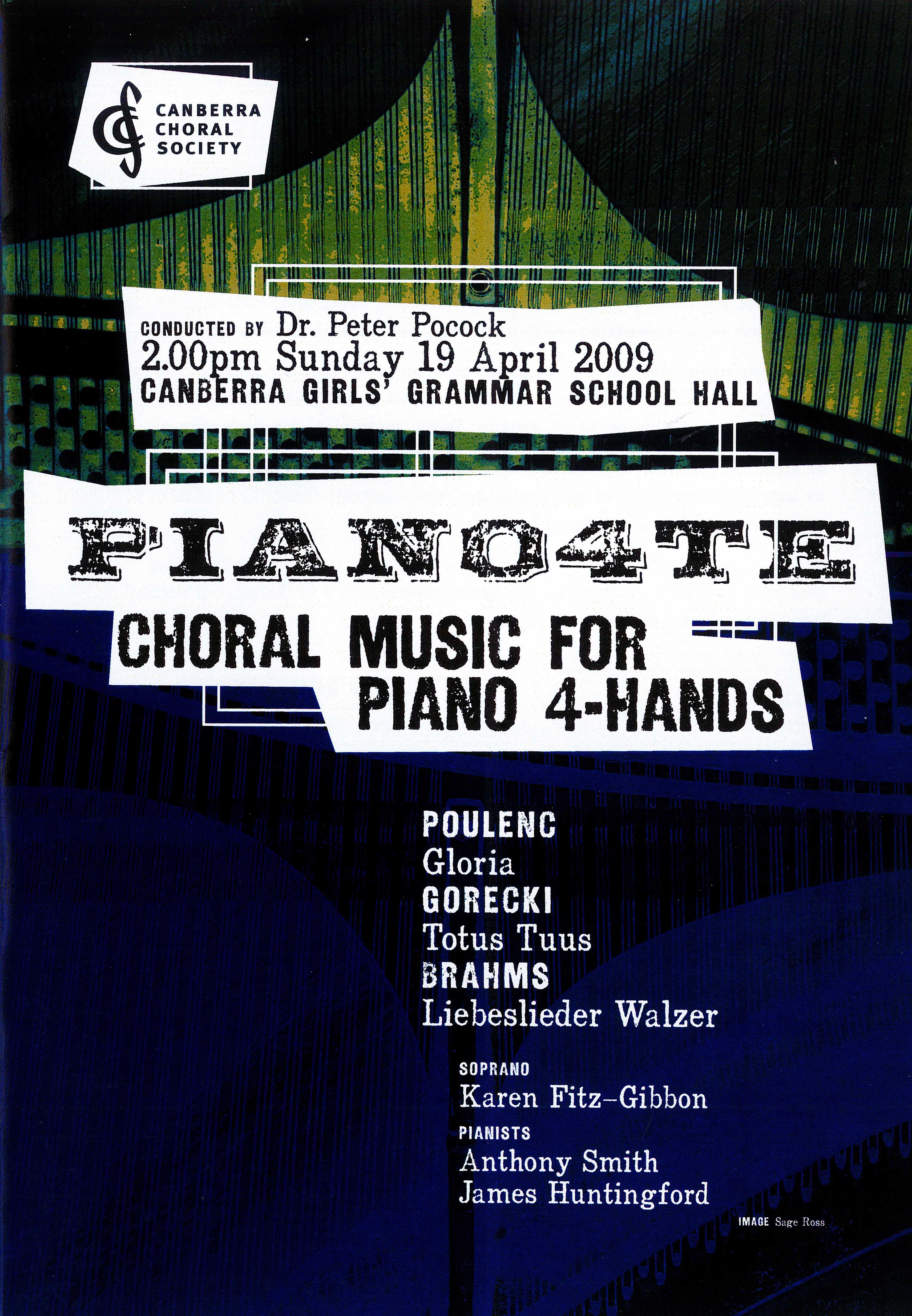 Piano4te 2009 poster