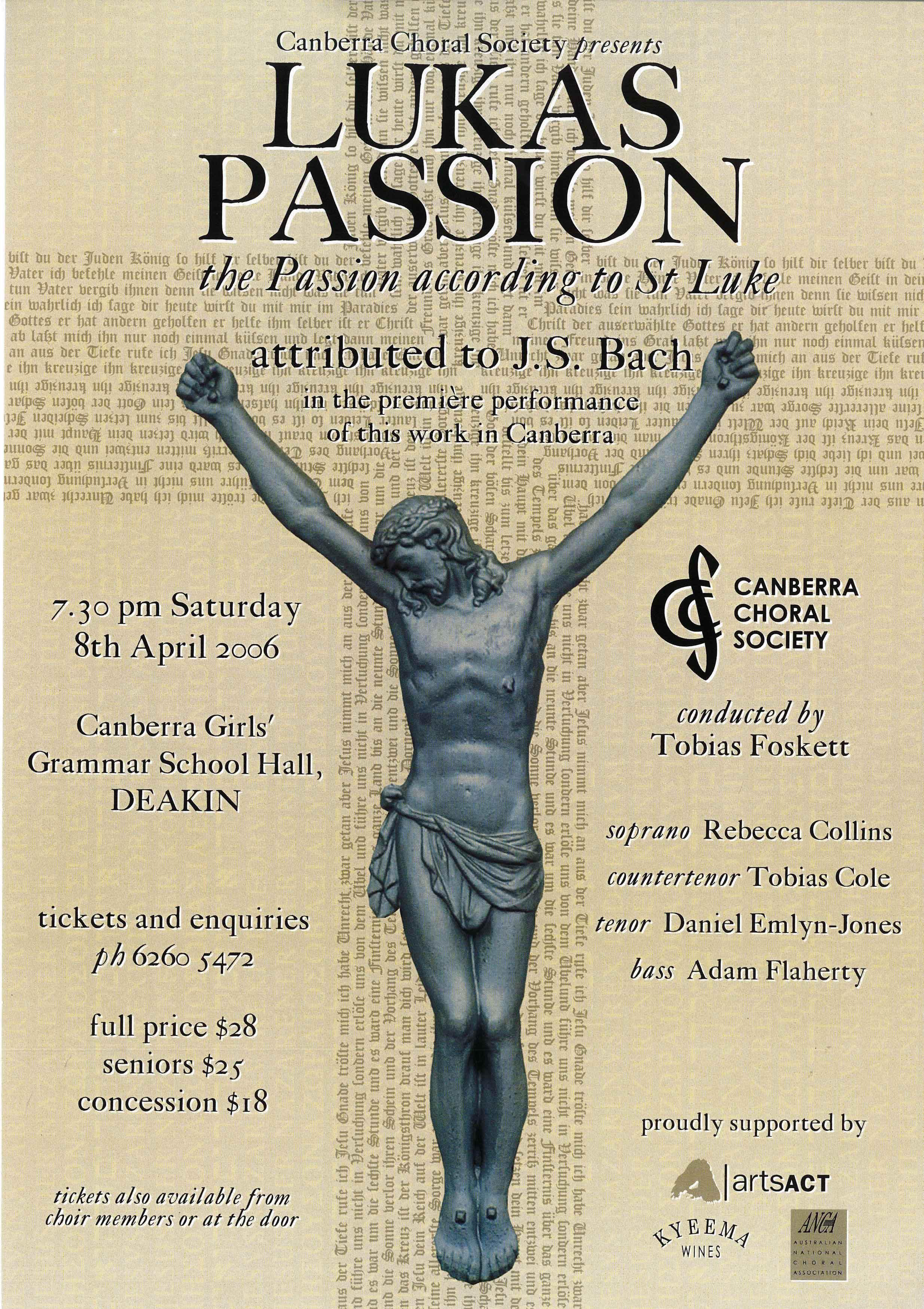 Lukas Passion 2006 poster