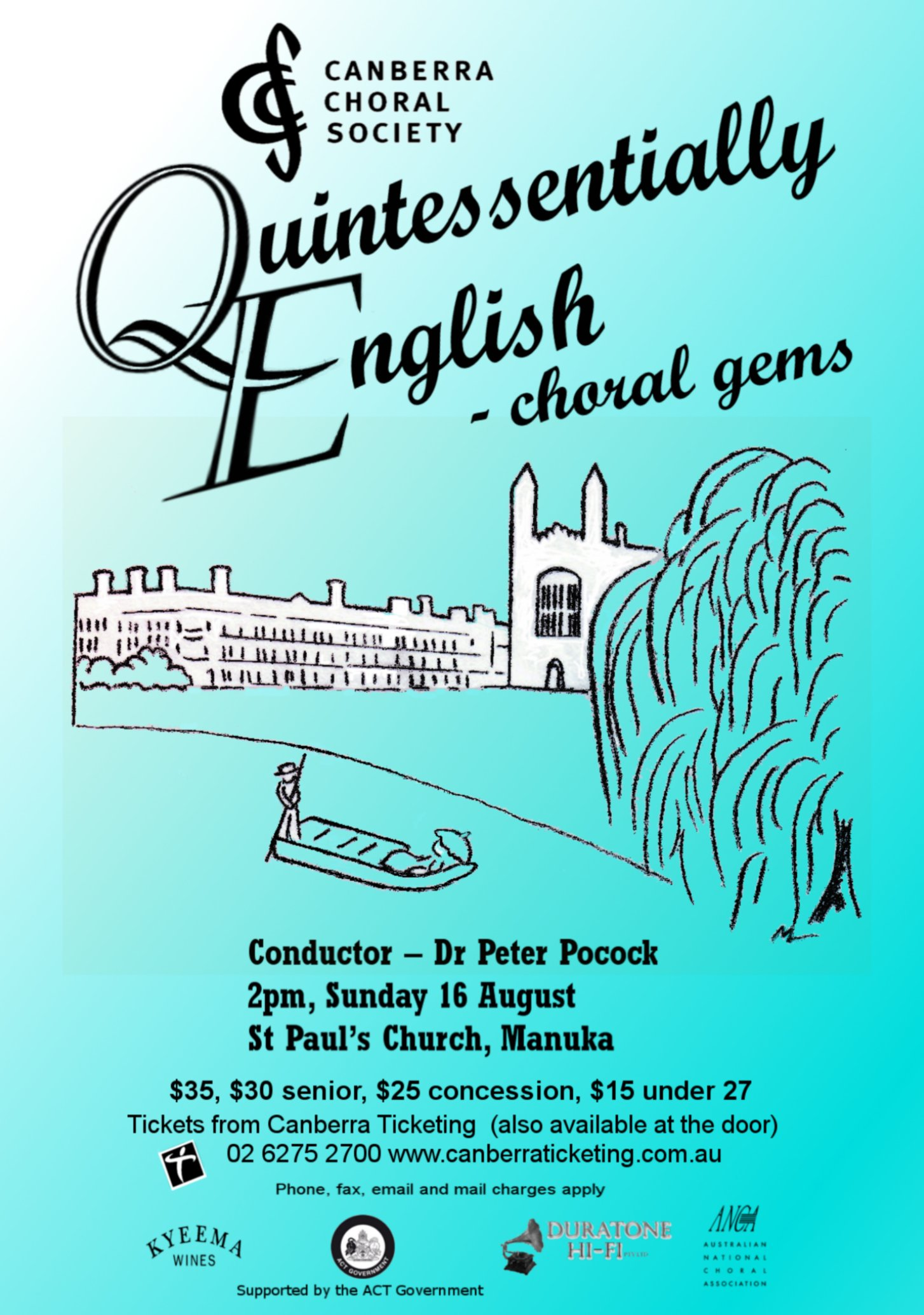 Quintessentially English 2009 poster