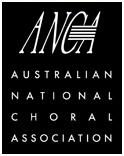 Australian National Choral Association logo