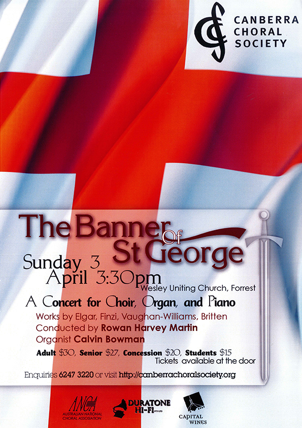The Banner of St George 2011 poster