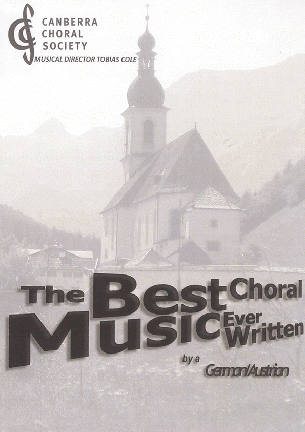 The Best Choral Music Ever Written by a German/Austrian 2011