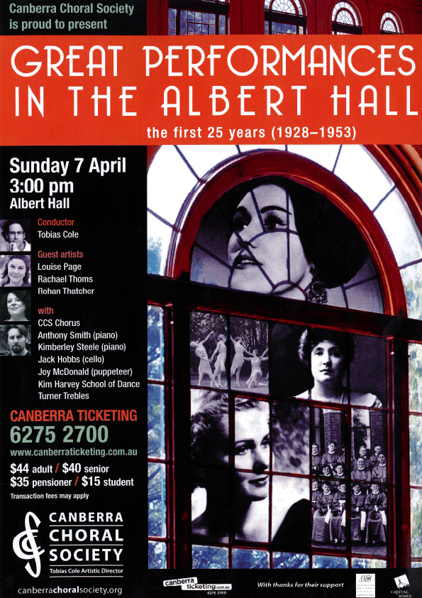 Great Performances in the Albert Hall (1928-1953)