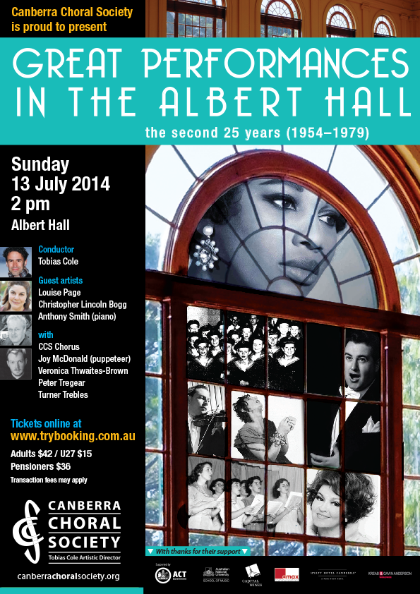 Great Performances in Albert Hall (1954-1979) poster
