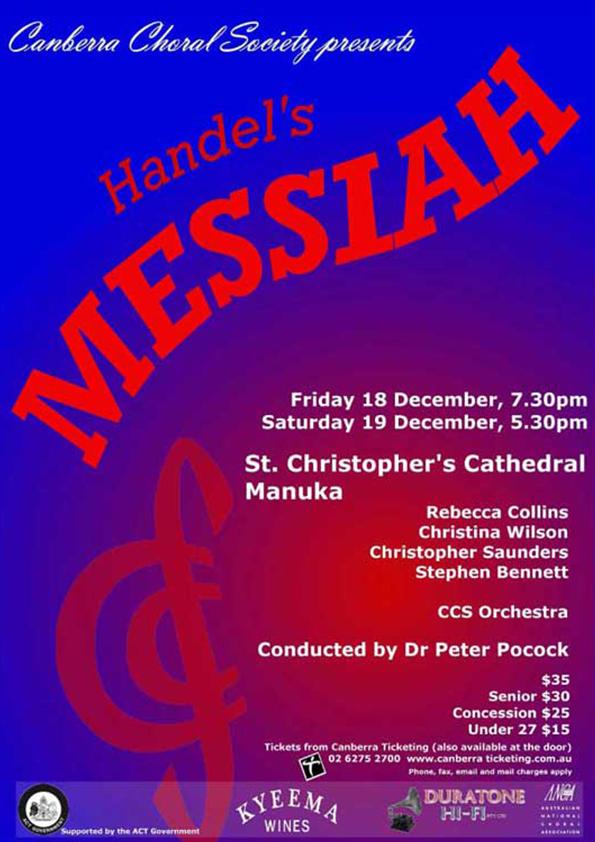Messiah 2009 poster