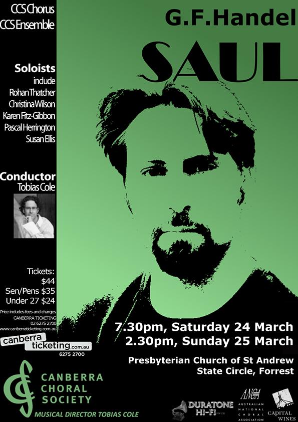 Saul 2012 poster